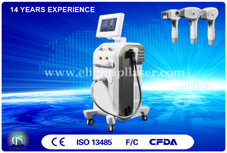 Superior Treatment Control  Rf Skin Tightening Machine Broader Dermal Effect