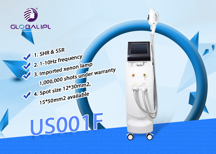 Intense Pulsed Light IPL Hair Removal Machine Powerful Energy Big Spot Size