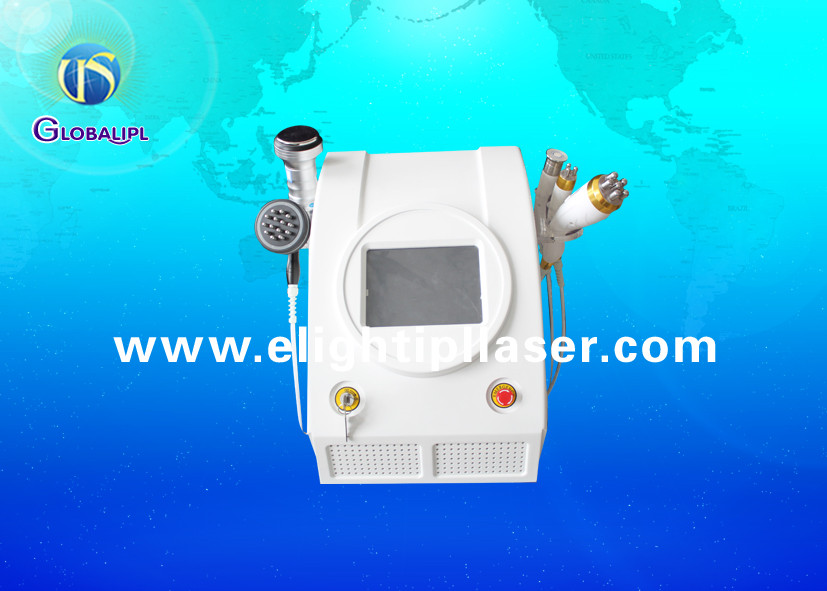 Portable Tripolar RF Vacuum Slimming Machine , Non Surgical Liposuction Machine