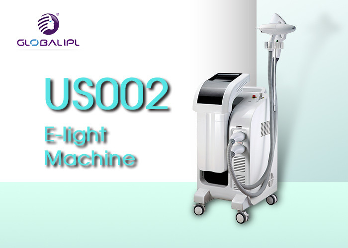 1000000 Shots E Light IPL RF 6MHZ RF 1600mj YAG Handle Beauty Machine