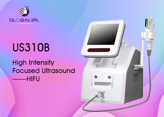 Wrinkle Removal Face Lifting HIFU Machine Non Invasive With 3 Cartridge