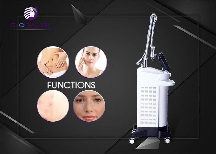 40W Power Acne Scar Removal Machine Sun Damage Recovery With 8.4 Inch LCD Touch Screen