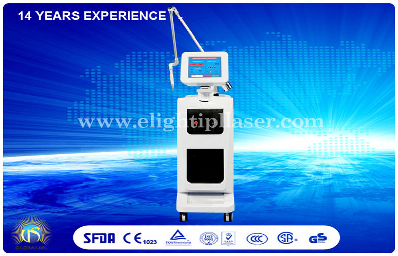 ND YAG Laser Hair Laser Removal Machine Vertical With Single Pulse Energy 800mj