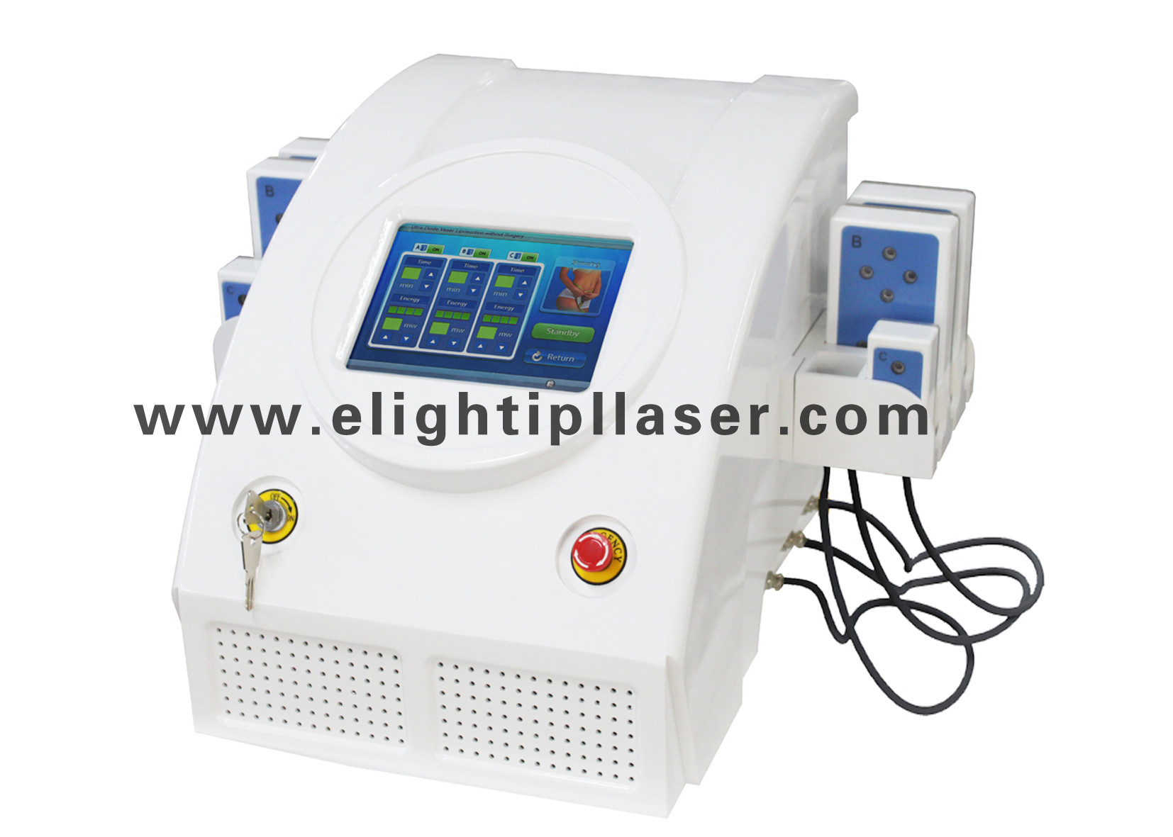 Lipo Laser Cellulite Reduction Hip Slimming System , Non Surgical Liposuction